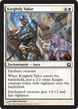 Knightly Valor | Magic: The Gathering Card