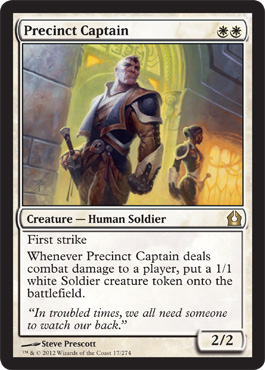 Precinct Captain | Magic: The Gathering Card