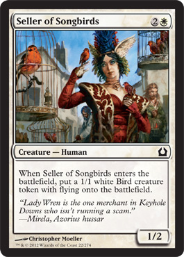 Seller of Songbirds | Magic: The Gathering Card