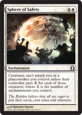 Sphere of Safety | Magic: The Gathering Card
