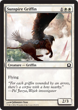 Sunspire Griffin | Magic: The Gathering Card