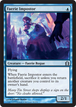 Faerie Impostor | Magic: The Gathering Card