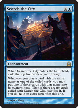 Search the City | Magic: The Gathering Card