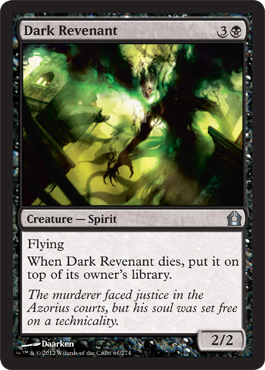 Dark Revenant | Magic: The Gathering Card