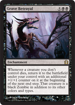 Grave Betrayal | Magic: The Gathering Card