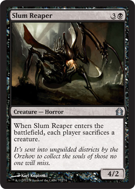 Slum Reaper | Magic: The Gathering Card