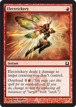 Electrickery | Magic: The Gathering Card