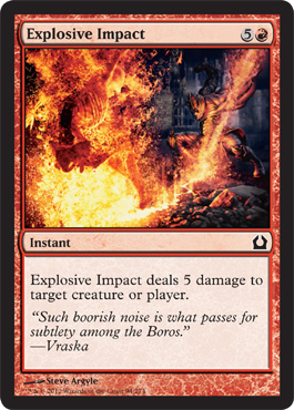 Explosive Impact | Magic: The Gathering Card