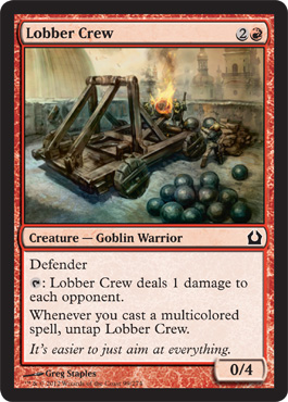 Lobber Crew | Magic: The Gathering Card