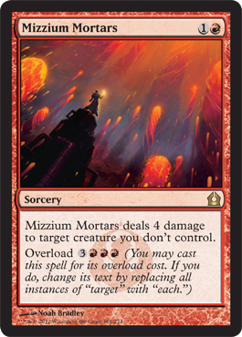 Mizzium Mortars | Magic: The Gathering Card