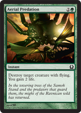 Aerial Predation | Magic: The Gathering Card