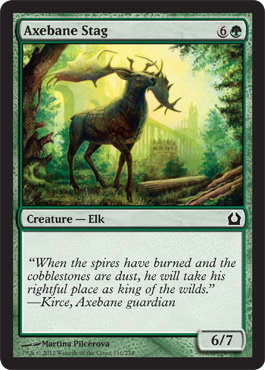 Axebane Stag | Magic: The Gathering Card