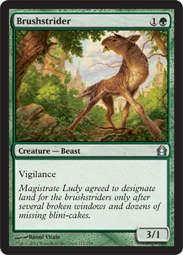 Brushstrider | Magic: The Gathering Card