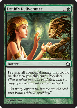 Druid's Deliverance | Magic: The Gathering Card