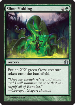 Slime Molding | Magic: The Gathering Card