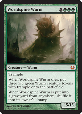 Worldspine Wurm | Magic: The Gathering Card