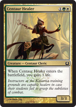 Centaur Healer | Magic: The Gathering Card