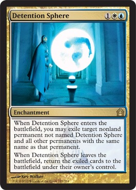 Detention Sphere | Magic: The Gathering Card