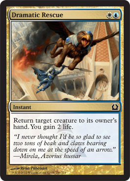 Dramatic Rescue | Magic: The Gathering Card