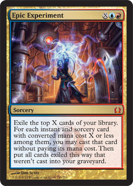 Epic Experiment | Magic: The Gathering Card