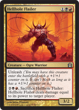 Hellhole Flailer | Magic: The Gathering Card