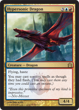 Hypersonic Dragon | Magic: The Gathering Card