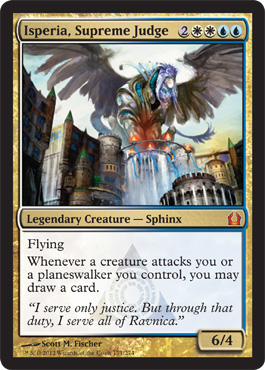 Isperia, Supreme Judge | Magic: The Gathering Card