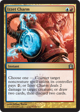 Izzet Charm | Magic: The Gathering Card