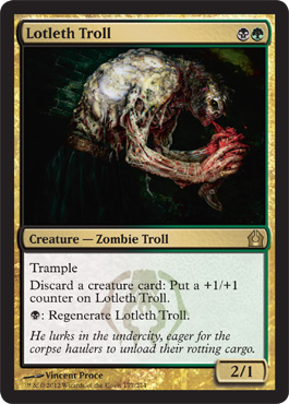 Lotleth Troll | Magic: The Gathering Card