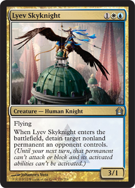 Lyev Skyknight | Magic: The Gathering Card