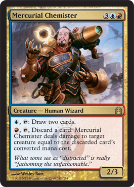Mercurial Chemister | Magic: The Gathering Card