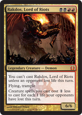 Rakdos, Lord of Riots | Magic: The Gathering Card