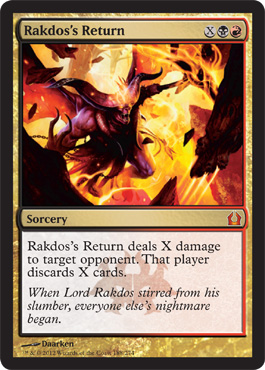 Rakdos's Return | Magic: The Gathering Card