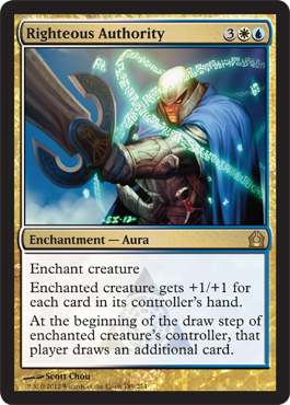 Righteous Authority | Magic: The Gathering Card