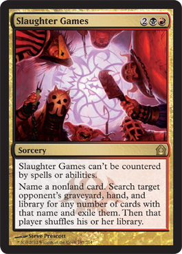 Slaughter Games | Magic: The Gathering Card