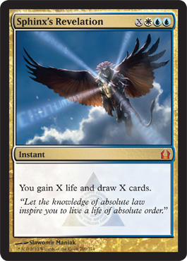 Sphinx S Revelation Return To Ravnica Magic The Gathering At