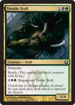 Trestle Troll | Magic: The Gathering Card