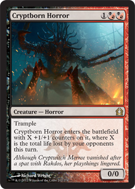 Cryptborn Horror | Magic: The Gathering Card