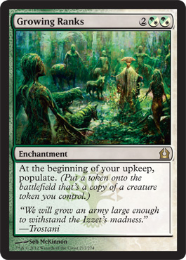 Growing Ranks | Magic: The Gathering Card