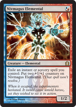 Nivmagus Elemental | Magic: The Gathering Card