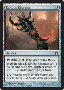 Rakdos Keyrune | Magic: The Gathering Card