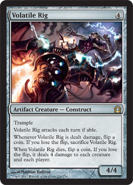Volatile Rig | Magic: The Gathering Card
