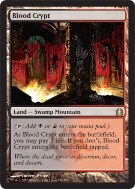 Blood Crypt | Magic: The Gathering Card