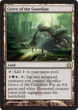Grove of the Guardian | Magic: The Gathering Card