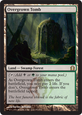 Overgrown Tomb | Magic: The Gathering Card