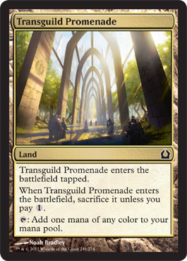 Transguild Promenade | Magic: The Gathering Card