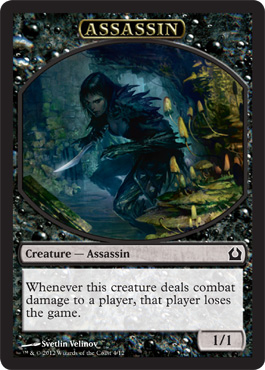Assassin Token | Magic: The Gathering Card