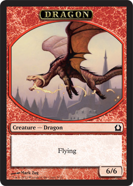 Dragon Token | Magic: The Gathering Card