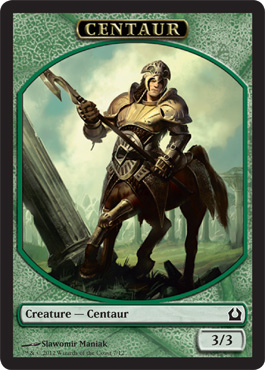 Centaur Token | Magic: The Gathering Card