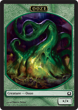 Ooze Token | Magic: The Gathering Card